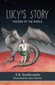 Cover of Lucy's Story - the End of the World by Z.R. Southcombe.