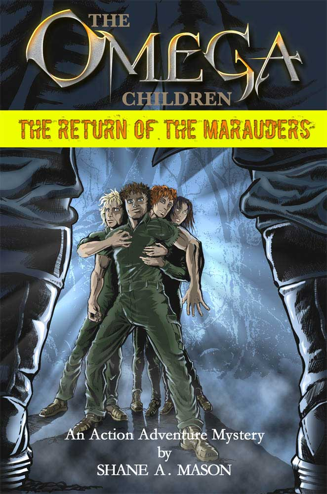 Action adventure fantasy YA book 1 of the Omega Children series