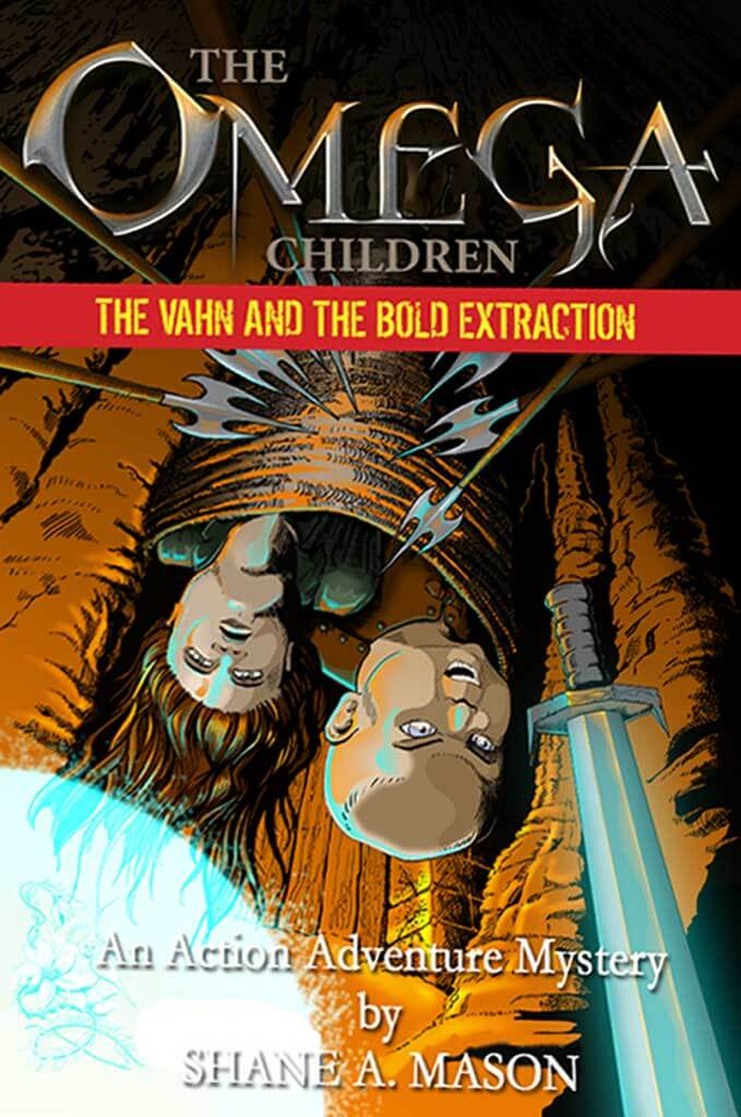 Action adventure fantasy YA book 2 of the Omega Children series