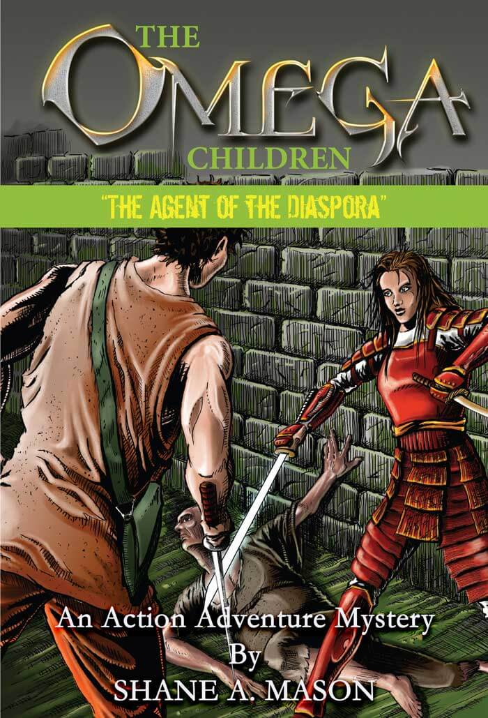 Action adventure fantasy YA book 3 of the Omega Children series