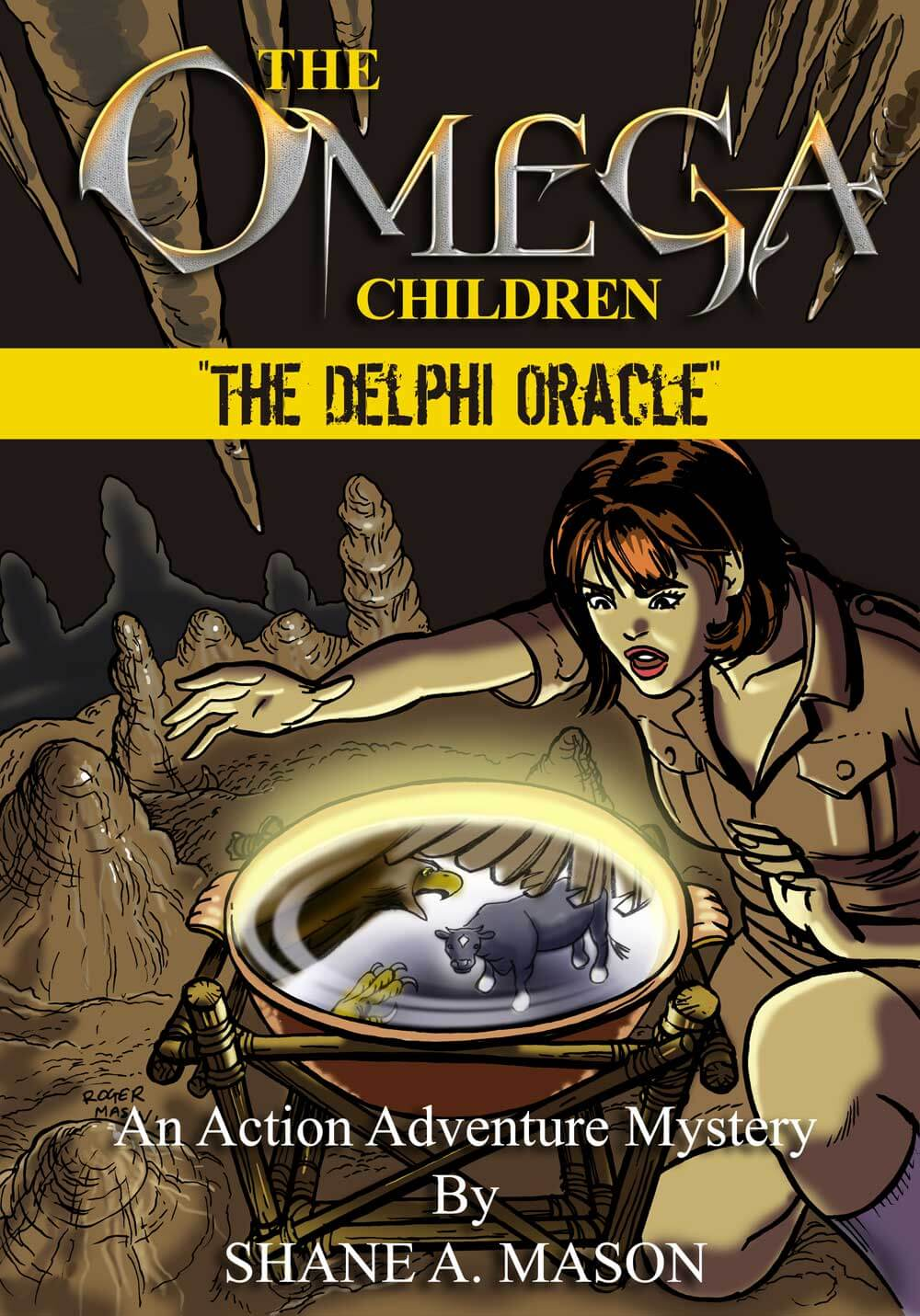 Action adventure fantasy YA book 4 of the Omega Children series
