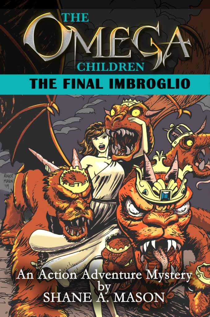Action adventure fantasy YA book 5 of the Omega Children series